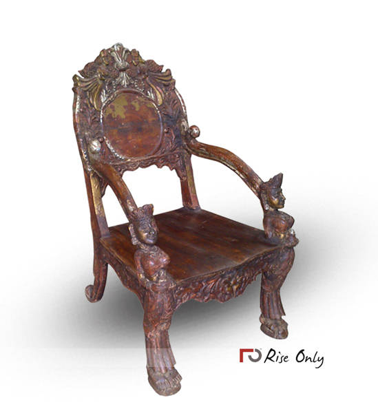 Antique Wooden Rest Chair, Relaxing Chairs, Wood Dining Chairs