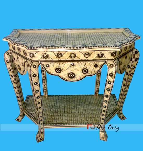 Bone Inlay Console Table Suppliers UK