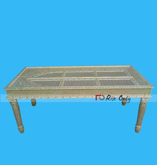 Bone Inlay Dining Table Manufacturer Bali, Indian Bone Inlay