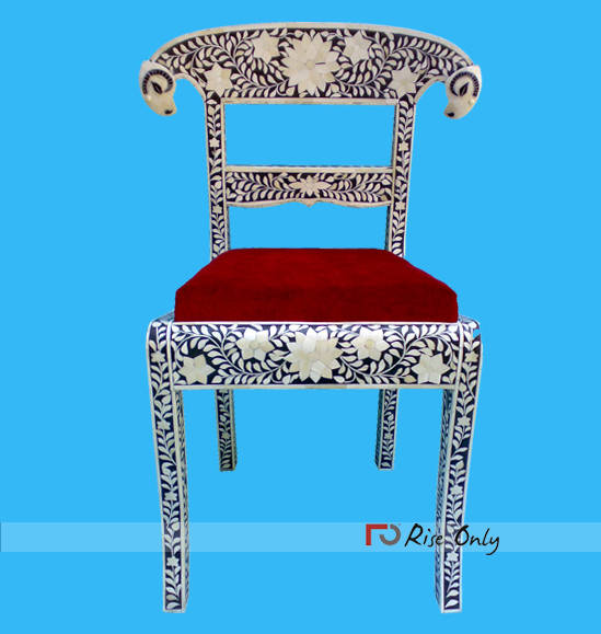 Bone Inlay Furniture White Color Online