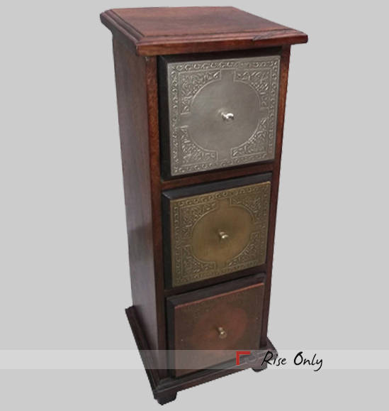 Brass Fitted Antique Chest Of Drawers Cheap Online