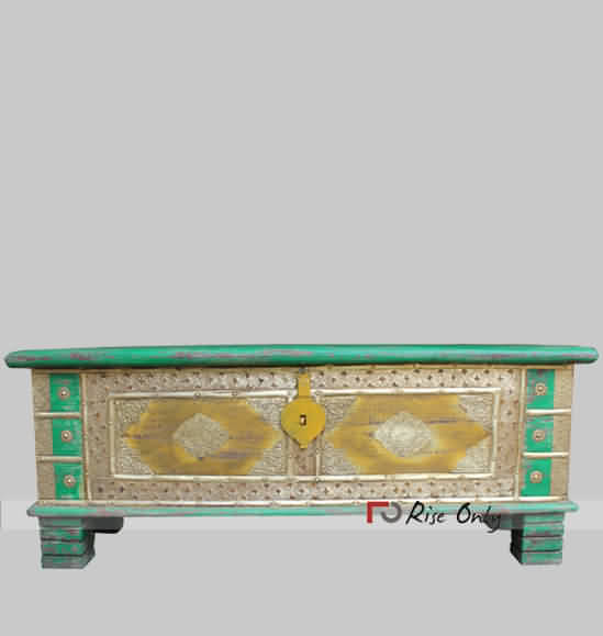 Brass Fitting Multicolor Trunk Chest