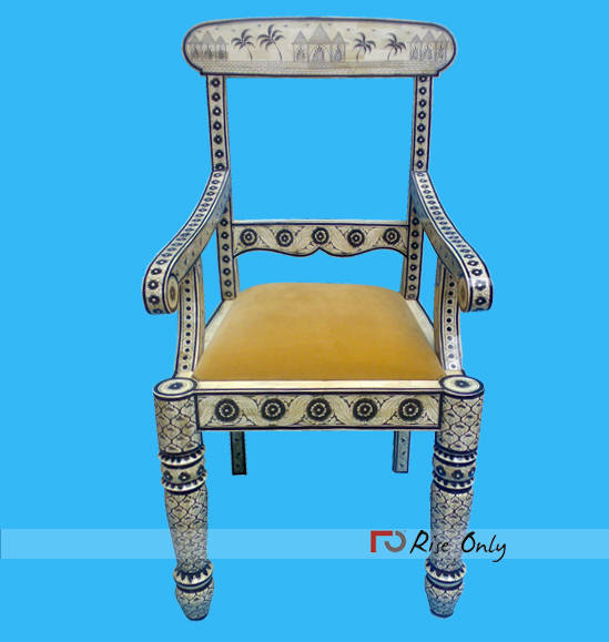 Brisbane Mother of Pearl Inlay Chair Online