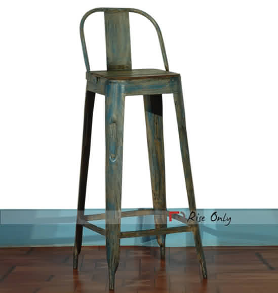 Buy Rise Only Industrial Stool with Backrest