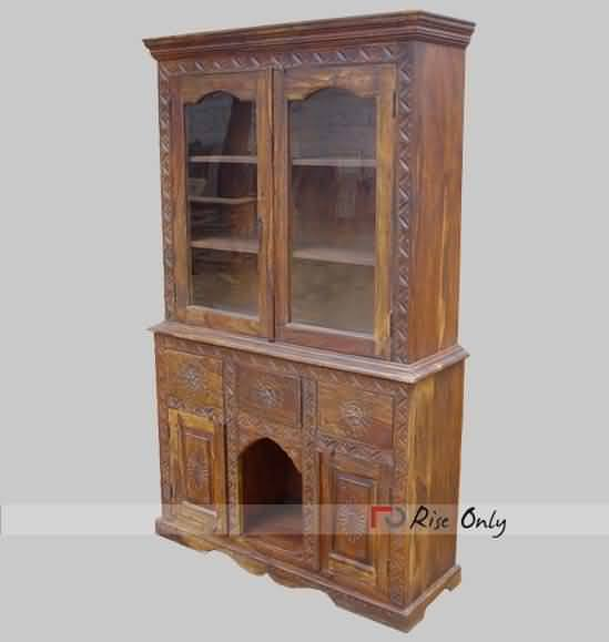 Contemporary Buffets And Hutches Online Buy Two Glass Doors Solid