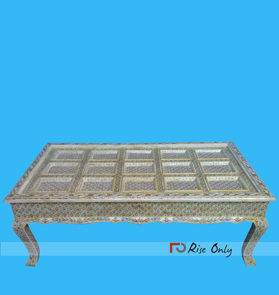 Cheapest Bone Inlay Furniture Coffee Table
