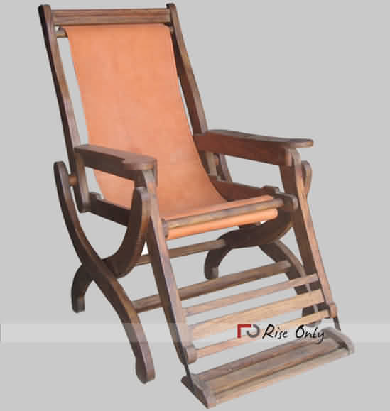 Comfortable Relax Leather Chair with Foot Rest & Comfortable Relax Rocking Chair with Foot Rest Wooden Handicraft ...