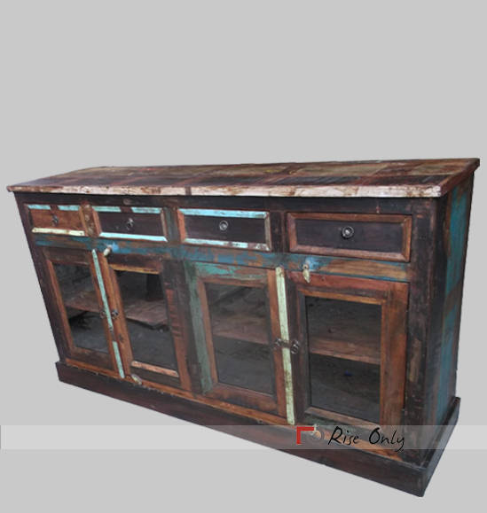 Indian Large Recycle Wood Sideboards