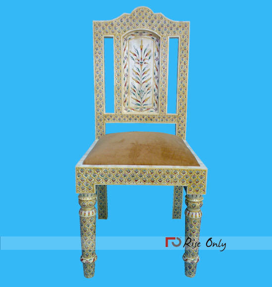 Bone Inlay Chairs Manufacturers Bali, Indonesian Bone