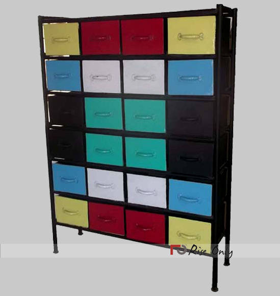 Rise Only Industrial Chest of Drawers Online UK