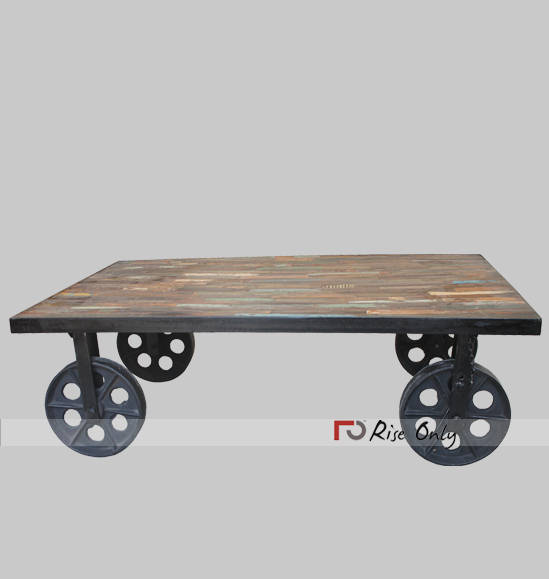 Industrial French Rustic Belgian Coffee Tables