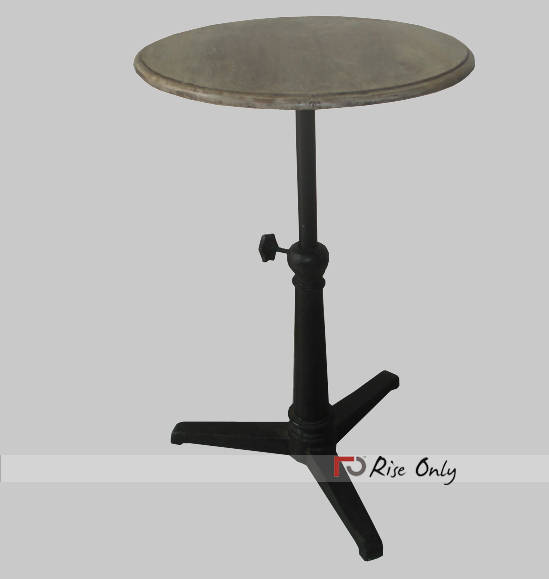 Industrial Round Dining Table Industrial Dining Table