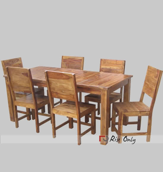 Wooden Dining Set With 6 Chairs Latest Dining Table Set