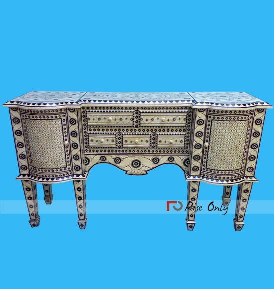 Mother of Pearl Inlay Console Tables Egypt