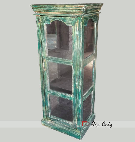 Painted Bookcases with Glass Doors online