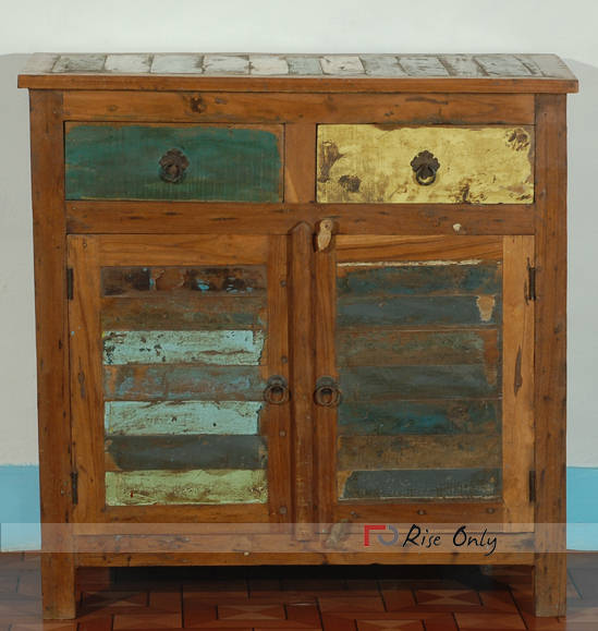 Rise Only Reclaimed and Recycled Wooden Sideboard