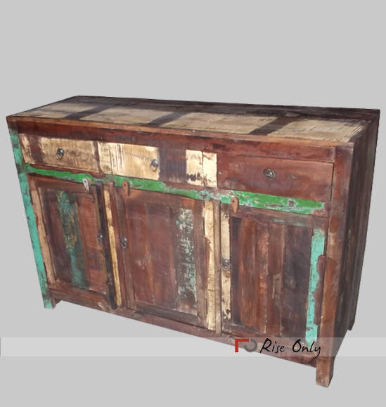 Reclaimed Recycled Wooden Sideboard Designs Online