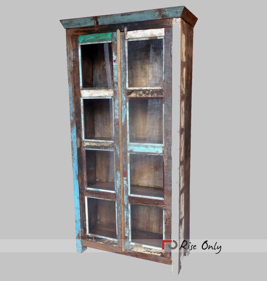 Recycle Reclaimed Wood Almirah Wardrobe Furniture