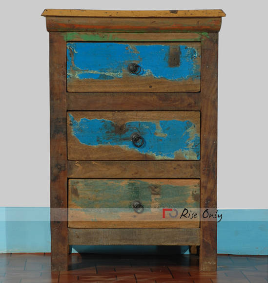 Recycled Reclaimed Wooden Furniture Bedside Online