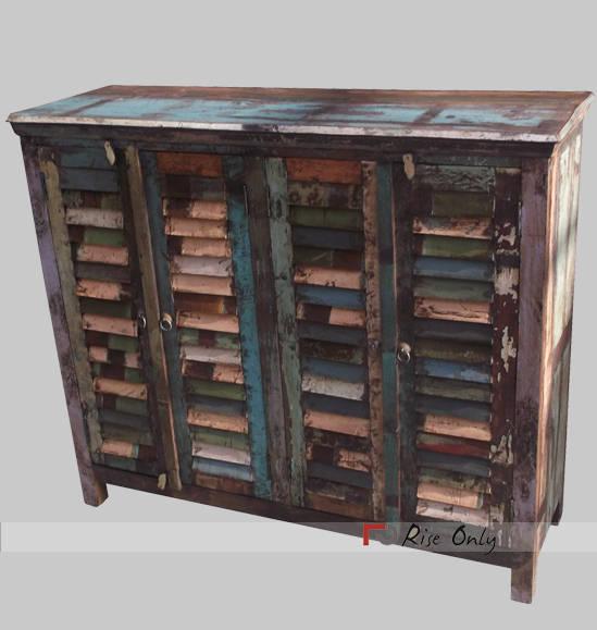 Recycled Wood Sideboards Cabinet India