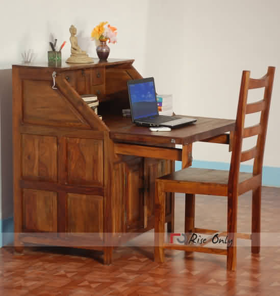 Rise Only Wooden Folding Writing Table Rise Only Wooden Folding Writing  Table