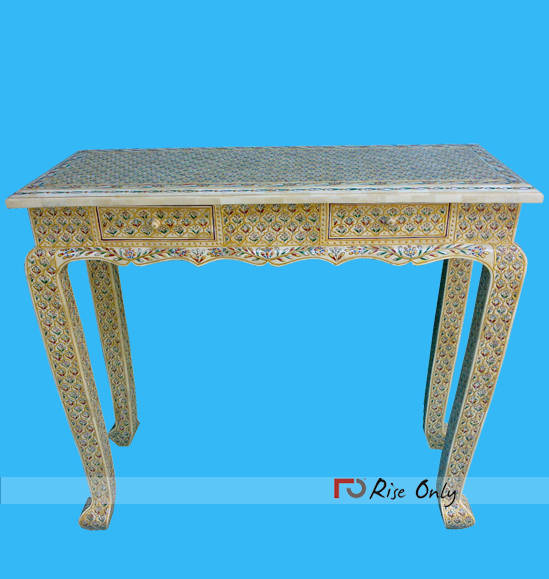 Rise Only Bone Inlay Console Tables Manchester