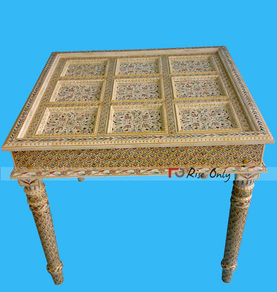 Rise Only Bone Inlay Dining Table Singapore Furniture