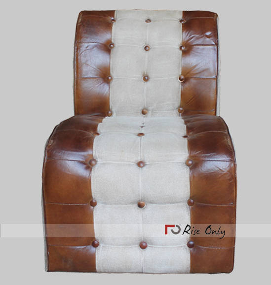 Rise Only Dining Upholstered Leather Chair