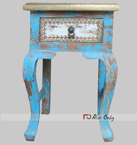 Rise Only Distressed End Tables