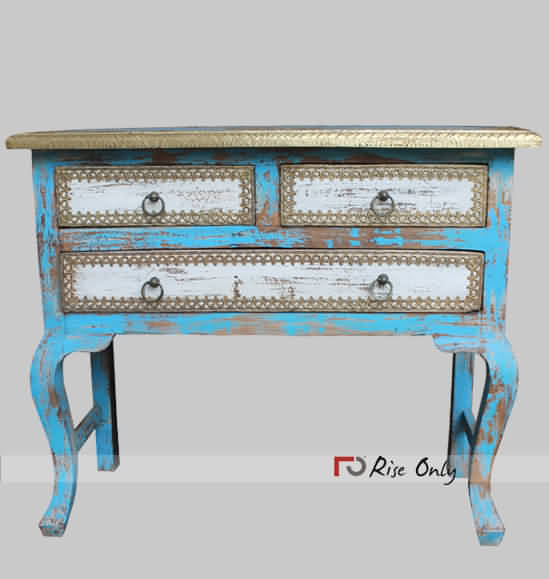 Rise Only Hand Painted Console Table