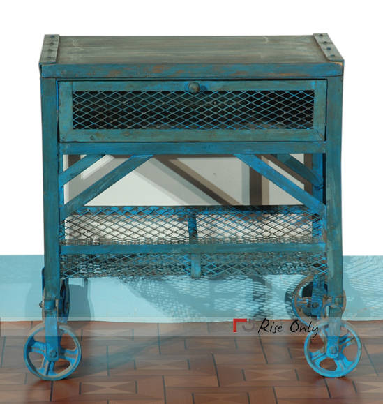 Rise Only Industrial Side Tables UK Online