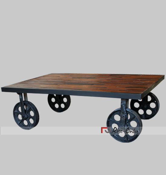 Rise Only Metal Industrial Coffee Table Sydney