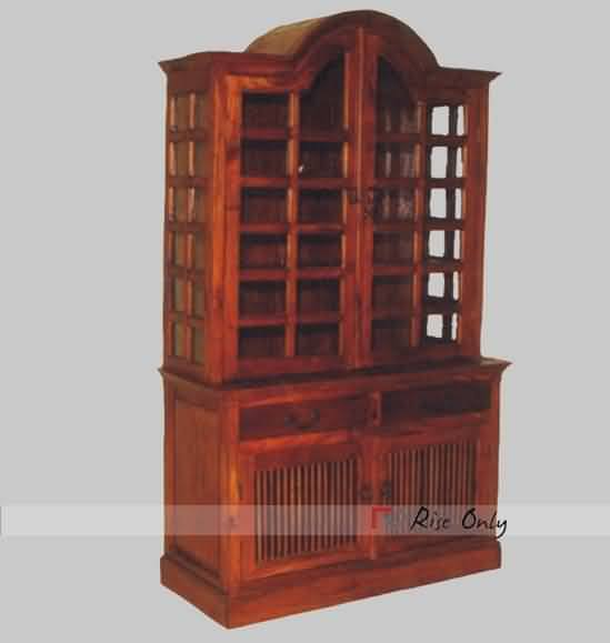 Design Kitchen Cabinet Online: Designer Hutch Buffet In Sheesham Wood, Hutch Buffets With