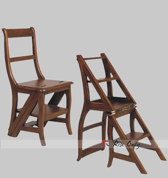 Rise Only Wooden Ladder Chair