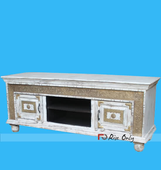 Rise Only Wooden Painted TV Cabinets