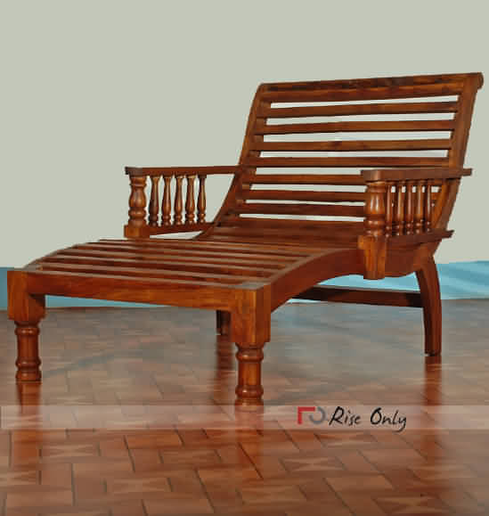 Sheesham Wood Lounge Chair Online, Wooden Relax Lounge Chair, Relax ...