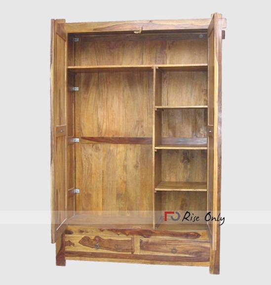 Sheesham Wardrobe Exporter Wooden Almirah India Wardrobe
