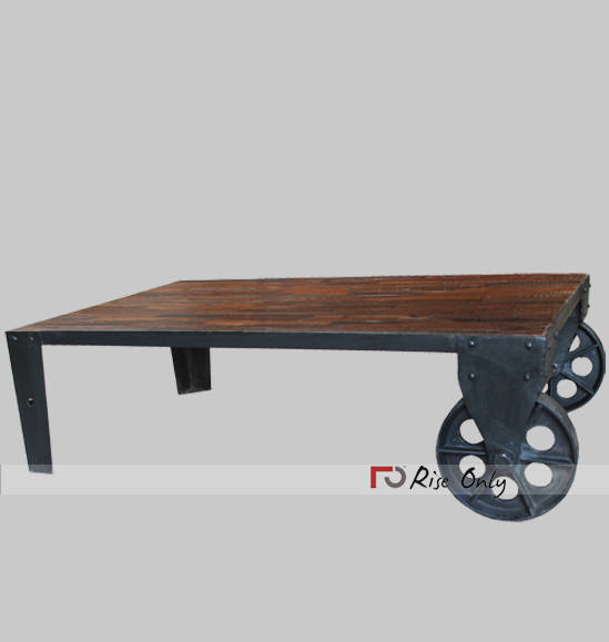 Small Square Industrial Coffee Table NZ
