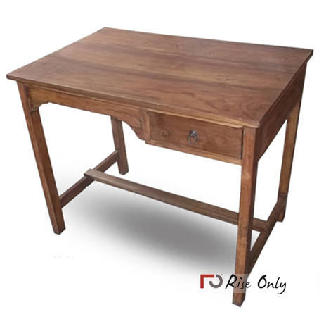 Teak Wood Writing Table, Wooden Writing Tables – Antique ...