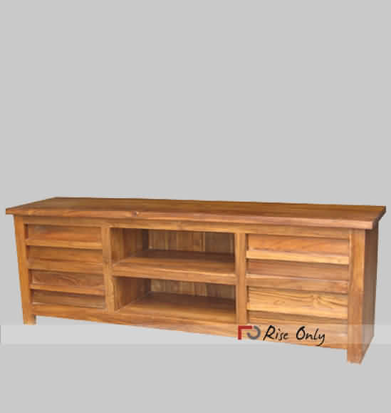 Teak wood tv cabinet stand wooden online india