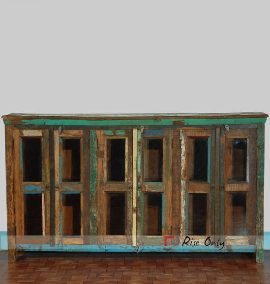Traditional Antique Recycle Wooden Sideboards India