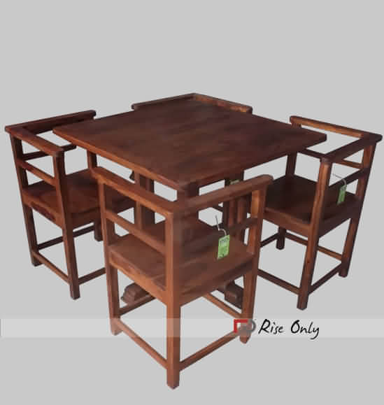 Very Stylish Modern Square Dining Table Set
