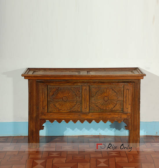 Vintage Console Table with Storage