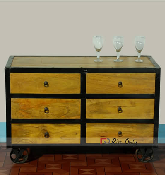 chest with threshold joanna drawers trim height of industrialfive item gaines drawer industrial magnolia five by products home width