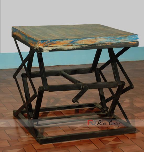 Etonnant Vintage Metal Industrial Side Tables Online