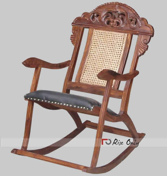 Vintage Style Rocking Chairs of Sheesham Wood - Antique Rocking Chair Online India, Vintage Style Rocking Chairs Of