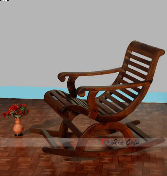 Wooden Handicraft Rocking Chairs Online Sheesham Wood