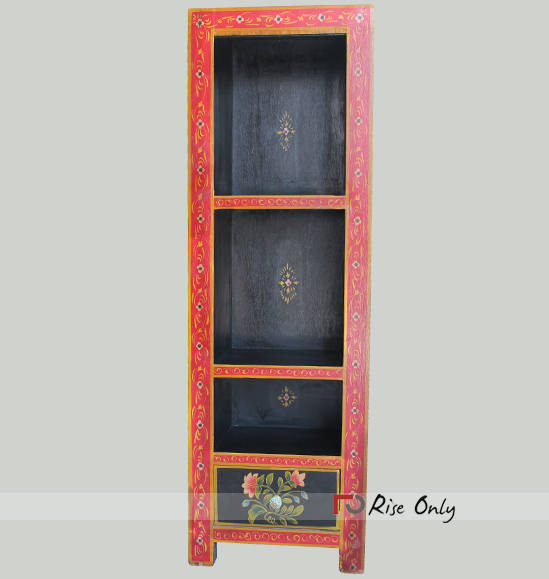 Wooden Painted Open Bookcase Bookrack MDF Online