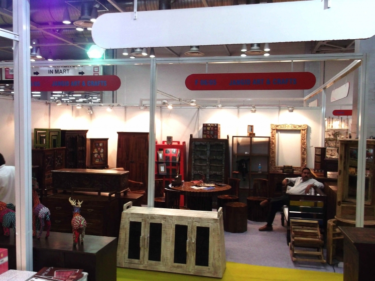 Home Expo India riseonly Owner at stall